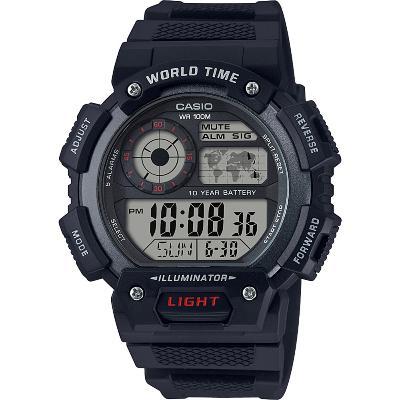 2dc81eaf8a91 CASIO--Reloj Casio AE-1400WH-1A Deportivo Digital Negro Hombre-exito