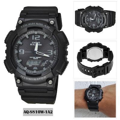 7da545485c75 Reloj CASIO AQ S810W 1A2 para HOMBRE color Negro - Compras por ...