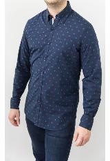 Camisa Casual Azul Sp17Wvn309 Vv - Bl carulla.com