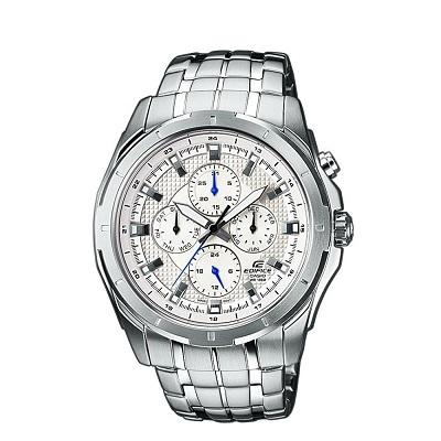 fc98867fdf31 CASIO EDIFICE--Reloj Casio Edifice Ef-328D-7A Plateado Fondo Blanco-