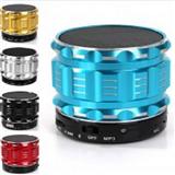 Mini parlante Bluetooth METALICO USB MSD altavoz portátilLED|carulla.com