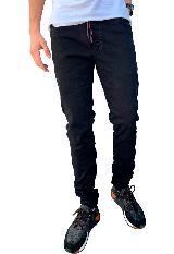Pantalon Jogger Negro Para Hombre|carulla.com