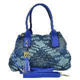 Bolso Dama Paparazzi 4557 Azul carulla.com