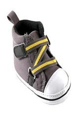 Zapatos Luvable Friends para niño con cierre en Zig-Zag Gris 12-18 Meses|carulla.com