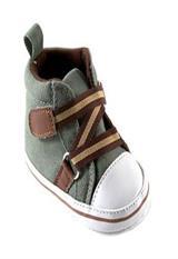 Zapatos Luvable Friends para niño con cierre en Zig-Zag Verde 12-18 Meses|carulla.com