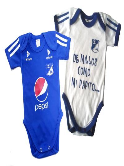 d4e50a29ddfb Set Ropa Para Bebe Bodys Millonarios De Millos Baby Monster ...