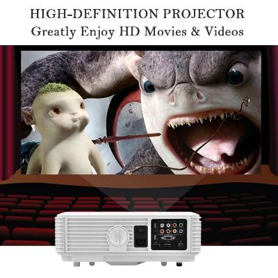 Video Beam Cine en tu Casa Proyector Hd Hdmi Sd 140 Pul