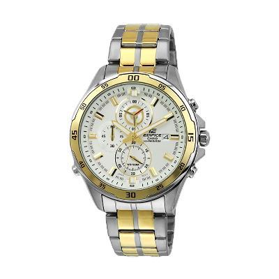 4d309bf13d5d CASIO EDIFICE--Reloj Casio EFR-547SG-7A9 Para Caballero Plateado- Dorado