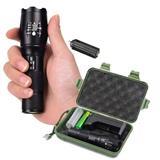 Linterna Militar Power Max Zoom +pila Cargador 5.000lm Verde|carulla.com