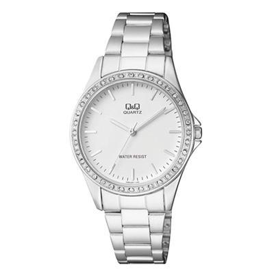 b0d9852fb232 Reloj Q q Q985J201Y Para Dama En Acero Q985J201Y Q Q - Compras por ...