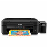 Impresora Epson EcoTank L380 Multifuncional Color USB Negra|carulla.com