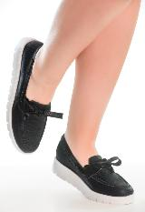 Zapato Negro Destellos Vt2401 carulla.com