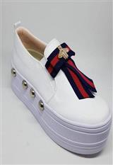 Tenis Blanco Corbata Superior carulla.com