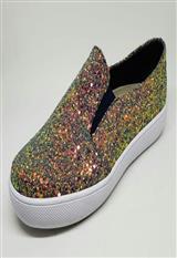 Zapato Casual Cerrado Pedreria Suela Blanca|carulla.com