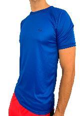 Camiseta deportiva azul rey para hombre carulla.com