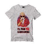 Camiseta Hombre dragon ball z Roshi Gris|carulla.com