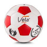 Balon Microfutbol Num 3.5 Panel 32 gama media Blanco y Rojo|carulla.com