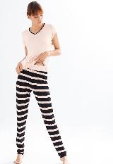 Pijama Pantalon Largo en viscosa Ref 15320|carulla.com