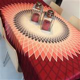 Mantel Rectangular Estrella Rojo 2X1.50Mt|carulla.com
