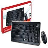 Combo Teclado Genius + Mouse Slimstar C130 Usb Negro|carulla.com