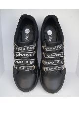 Tenis Negro Cordón Letras Beale|carulla.com