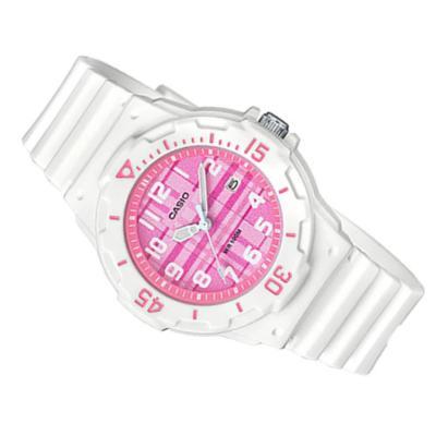 e5ace0cbb68b Reloj Casio Lrw 200H 4 Cv Mujer Blanco Rosado LRW 200H 4CV CASIO ...