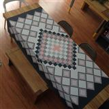 Mantel Rectangular Mosaico Gris 2X1.50Mt|carulla.com