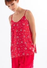Camisa de tiritas en viscosa Ref 18870|carulla.com
