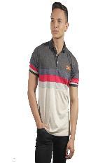 Camiseta Polo Hombre manga Corta Slim Fit Gris Marfil Super|carulla.com