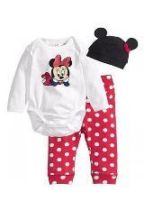 Conjunto Para Bebé Niña Mameluco Minnie|carulla.com