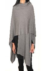 Chal Pañolon tejido gris|carulla.com