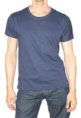 Camiseta slim Aranzazu cuello redondo unicolor|carulla.com