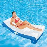 Flotador De Lujo Silla Cama Inflable Piscina Bestway Coolerz|carulla.com