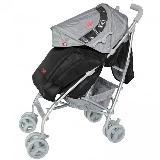 Coche Evezo Aluminio 2056 Negro|carulla.com