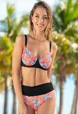 Bikini Triangular con Cubrimiento Graduable en Copas y Panty carulla.com