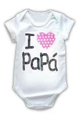 Body BABY MONSTER yo amo a papá blanco algodón|carulla.com