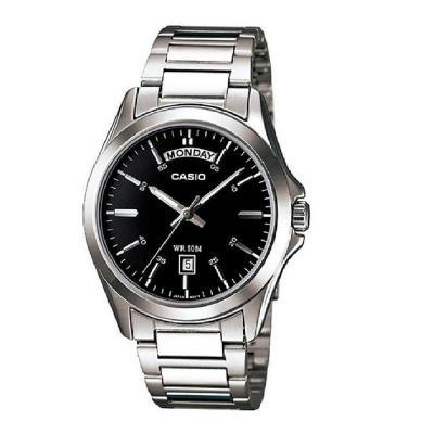 22ac5f8e00a6 Reloj Casio Mtp 1370D 1A1 Hombre Negro CASIO - Compras por Internet ...