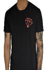 Camiseta Diamante Naranja Zeta Z0010Na Negra carulla.com