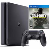 Consola PS4 Slim 1 TB + Call Of Duty Infinite Warfare|carulla.com