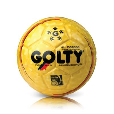 GOLTY--Balon Profesional Dorado Futbol Numero 5-exito.com 8592b693536f3