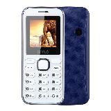 Mini Celular Camara Mp4 Mp3 Fm Linterna Dual Sim Blanco Azul|carulla.com