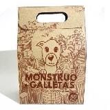 50 Mini Monstruo Galletas Para Perro de Paté Hígado de Pollo|carulla.com