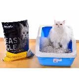 Arena para gatos de 8 kilos olor a limon|carulla.com