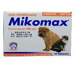 Medicamento Para Perros Y Gatos Mikomax X 200 Mg X 10 Tabs carulla.com