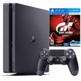 Consola PS4 Slim 1TB + Gran Turismo  Sport + Control|carulla.com