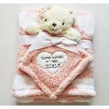 Cobertor para bebe Nube rosa Oso carulla.com